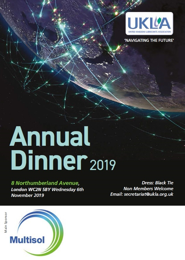 MULTISOL SPONSORS UKLA DINNER 2019