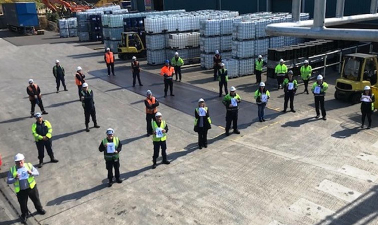 Irlam depot passes seven year safety landmark