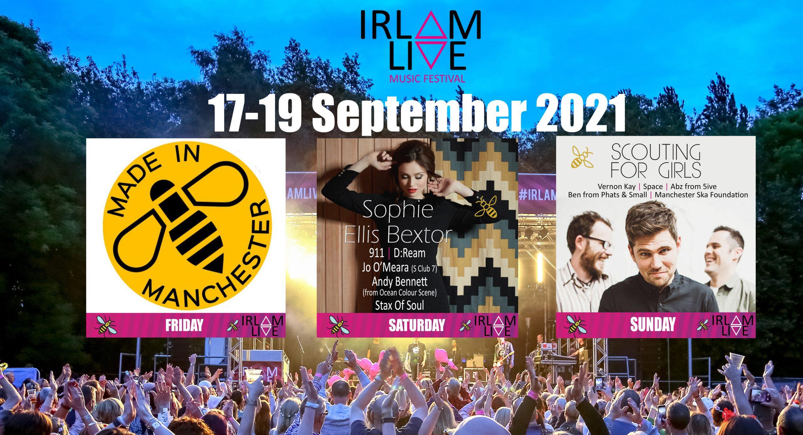 Multisol sponsors Irlam Live 2021
